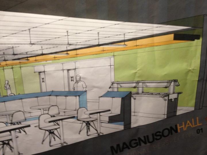 Magnuson Dining print