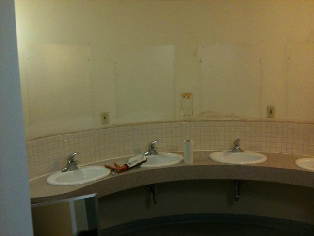 NPU bathroom before