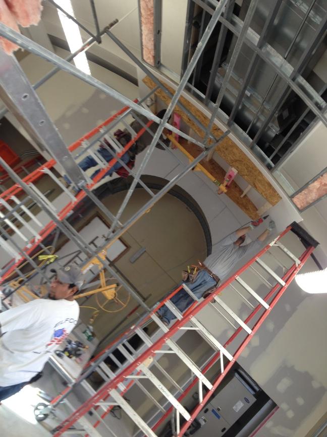 NPU Ceiling in progress2