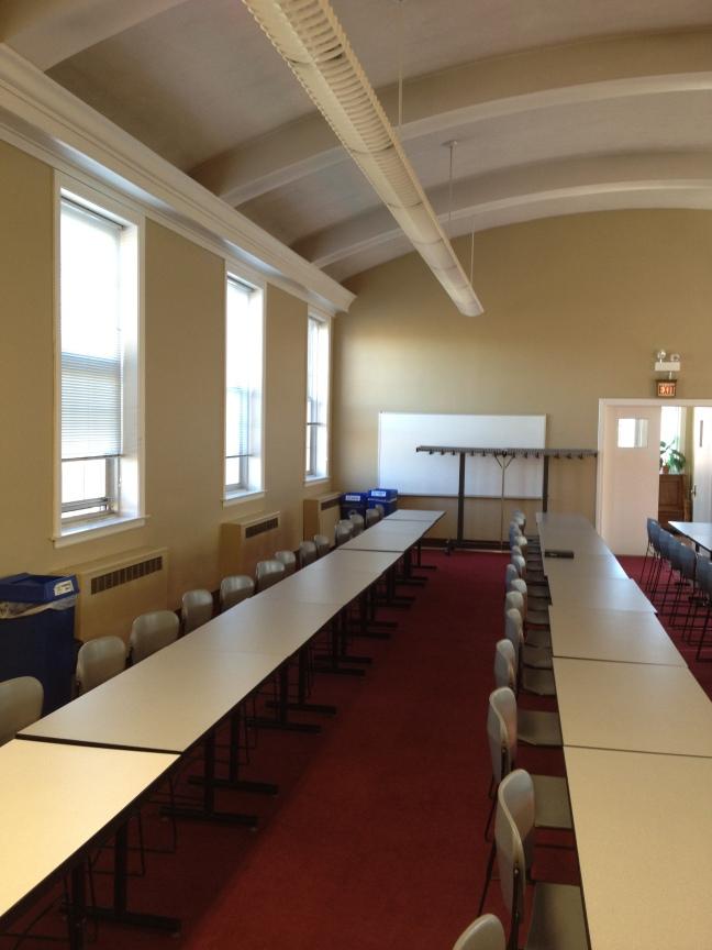 NPU upright ceiling
